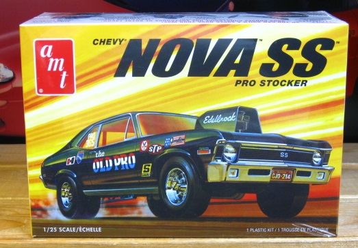 AMT 1972 Chevy Nova SS The Old Pro New 2018 Issue Sealed