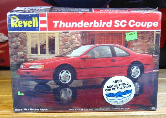 Revell 1989 Thunderbird SC Coupe Kit Sealed
