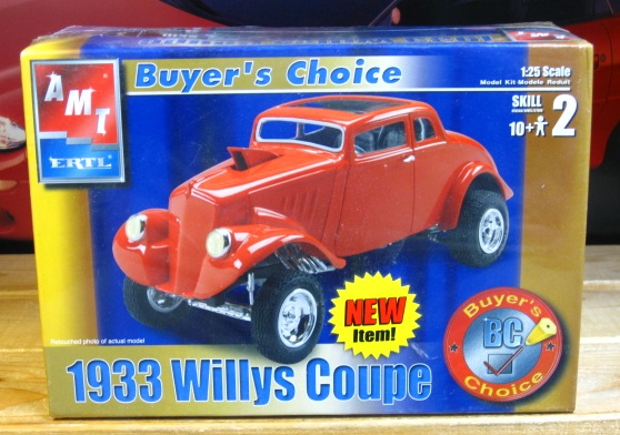 AMT 1933 Willys Coupe 2002 Issue Sealed