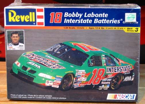 #18 Interstate Bobby Labonte 1999 Revell Kit Sealed