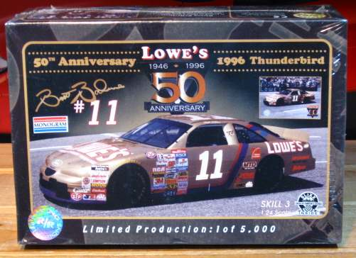 #11 Lowe's Gold Brett Bodine Racing Reflections Kit Sealed