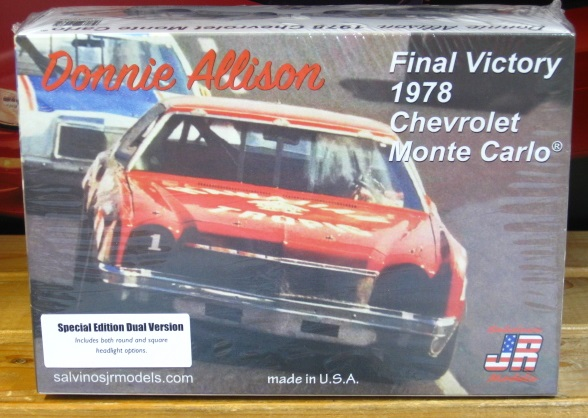# 1 Hawaiian Tropic Donnie Allison Monte Carlo JR-Salvinos Kit Dual Version