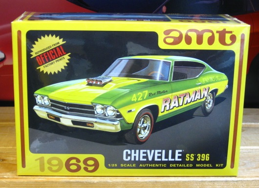 "AMT 1969 Chevelle SS 396 ""Ratman"" New 2019 Issue Sealed"