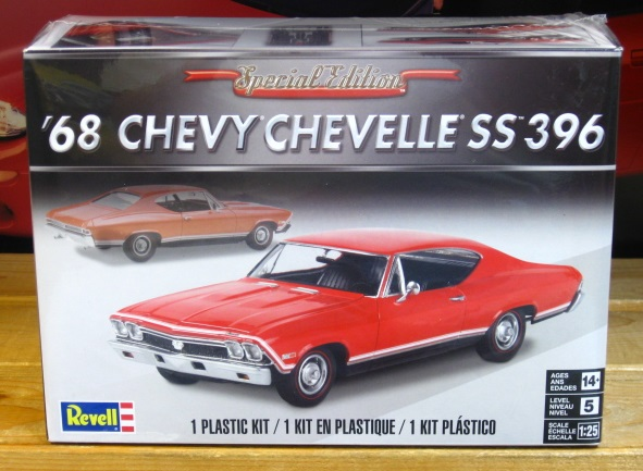 Revell 1968 Chevelle SS 396 Special Edition Series Kit Sealed