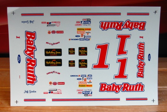 # 1 Baby Ruth Jeff Gordon