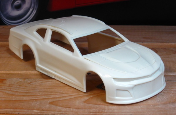 Resin Body 2018/19 Nascar Camaro Powerslide