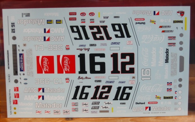#12/16 Matador Bobby Allison Cherry Run
