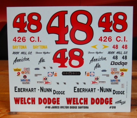 #48 James Hylton Dodge Daytona Powerslide #310
