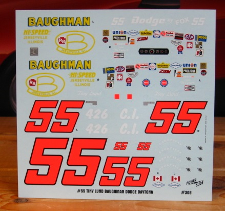 #55 Baughman Tiny Lund Dodge Daytona Powerslide #308