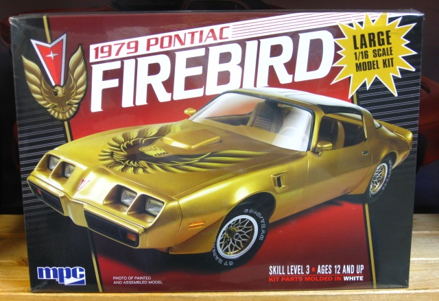 MPC 1979 Pontiac Firebird 1/16 Scale Kit Sealed