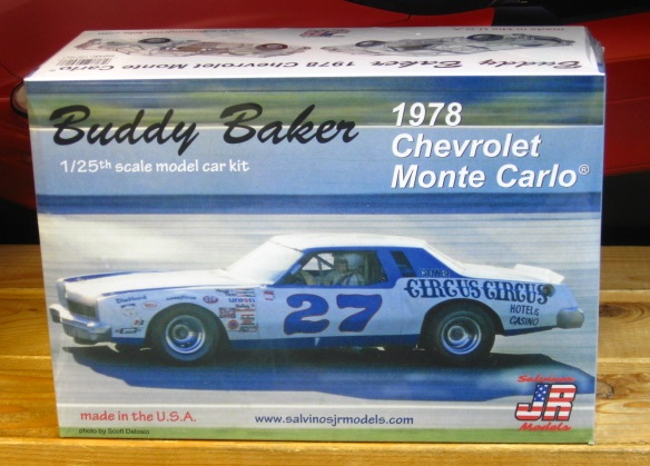 #27 Circus Circus Buddy Baker Monte Carlo JR-Salvinos Kit NEW