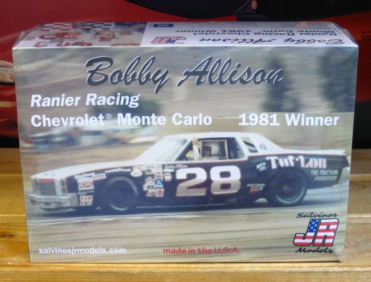 #28 Bobby Allison Monte Carlo 1981 Riverside Winner JR-Salvinos Kit