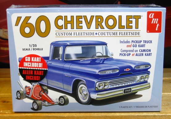 AMT 1960 Chevy Fleetside Pickup Kit New 2018 Issue Sealed Sealed