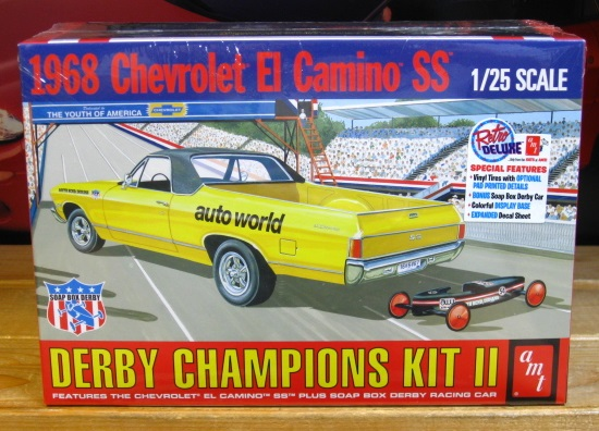AMT 1968 Chevy El Camino SS Kit 2018 Issue Sealed