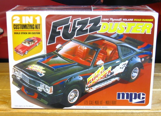 "MPC 1980 Plymouth Volare ""Fuzz Duster"" Kit Sealed"