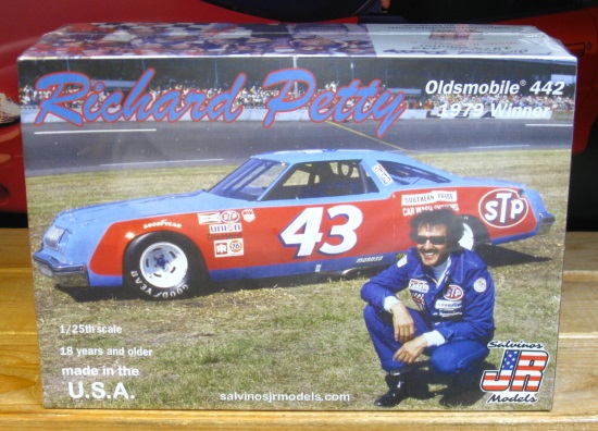 #43 Richard Petty 1979 Daytona 500 Oldsmobile JR-Salvinos Kit NEW!