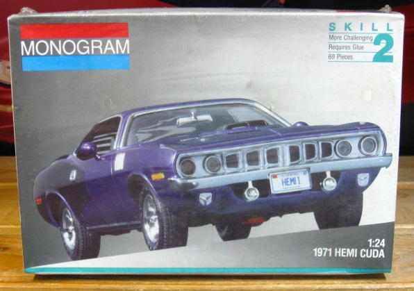 Monogram 1971 Plymouth Hemi Cuda 1991 Issue Sealed