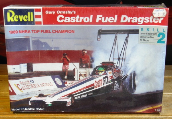 Revell Castrol Gary Ormsby Top Fuel Dragster Kit Sealed