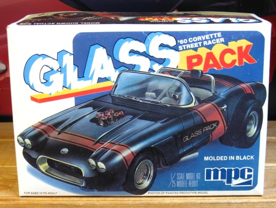"MPC 1960 Corvette ""Glass Pack"" Complete"