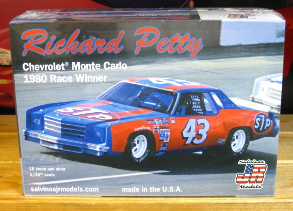#43 Richard Petty 1980 Monte Carlo JR-Salvinos Kit NEW!