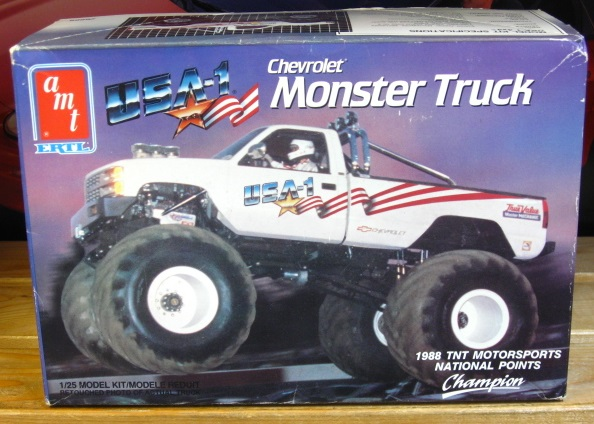 AMT Chevrolet Monster Truck 1990 Issue Complete
