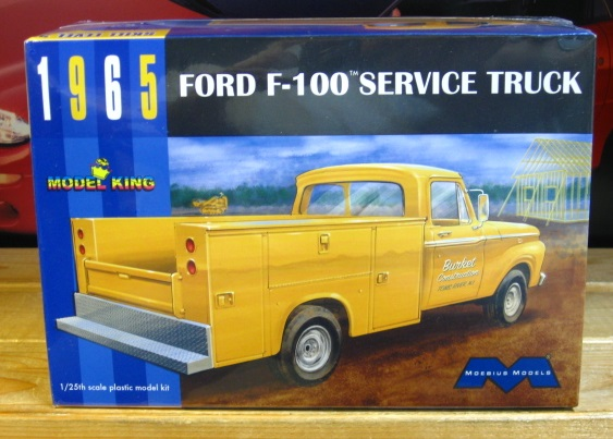Moebius Models 1965 Ford F-100 Service Truck Kit Sealed