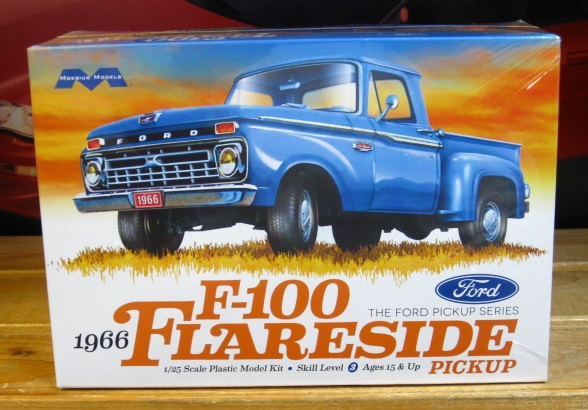 Moebius Models 1966 Ford F-100 Flareside Kit Sealed