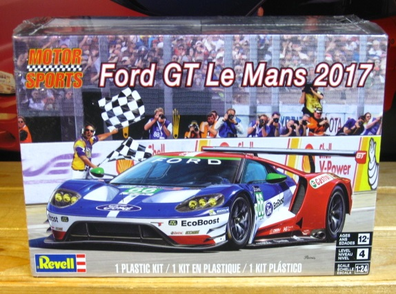 Revell Ford GT Lemans 2017 Kit Sealed