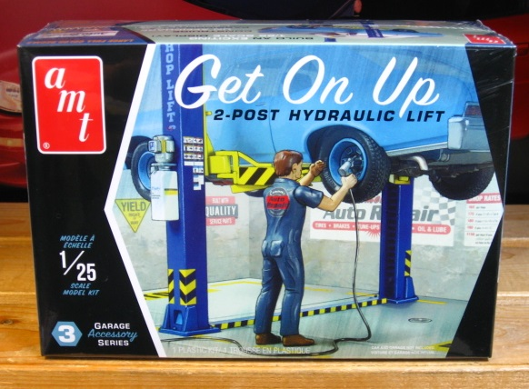 AMT 2 Post Hydraulic Lift Kit 1/25 Scale