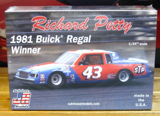 #43 Richard Petty Buick 1981 Daytona Winner JR-Salvinos Kit NEW!