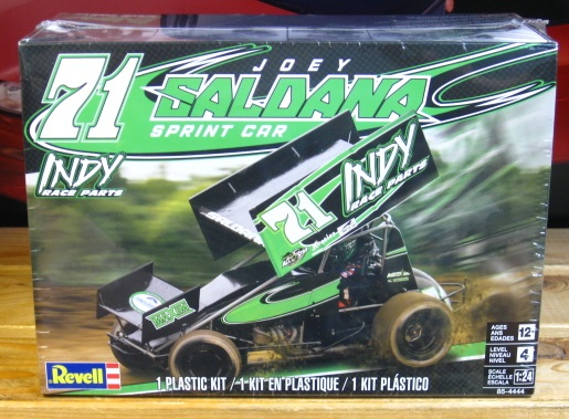 Revell #71 Joey Saldana 2019 Sprint Car Kit Sealed NEW!