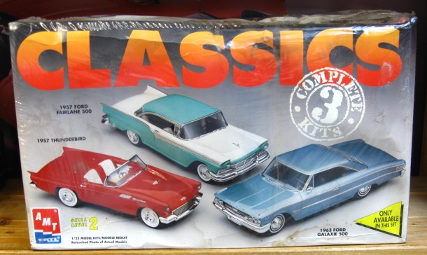 AMT 1963 Ford Galaxie Classics Combo Kit Sealed