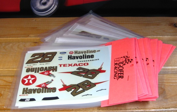 Lot of 25 #28 Havoline Davey Allison 1989 Decals