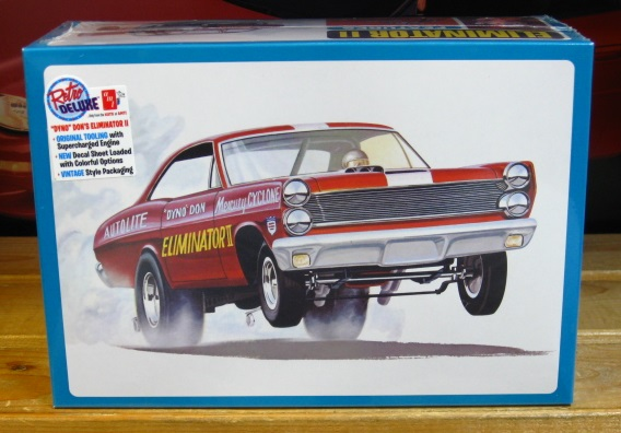AMT Dyno Don Mercury Cyclone Funny Car Kit NEW!