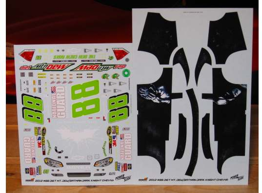 #88 Batman Michigan Winner Dale Earnhardt Jr 2012 Powerslide