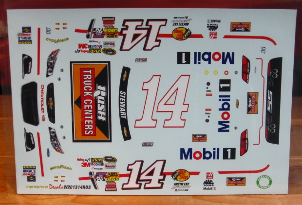 #14 Rush Truck Centers Tony Stewart 2013 Chevy SS MPR