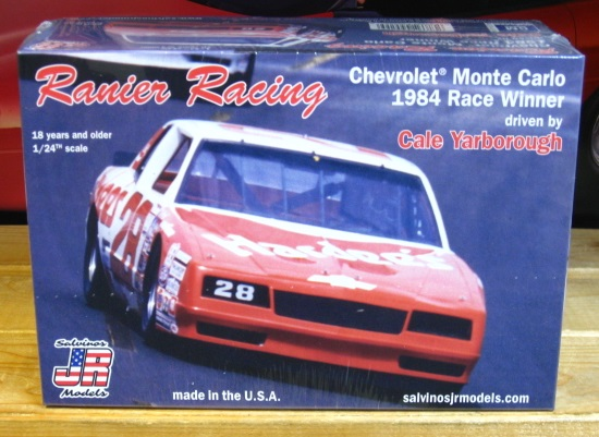 #28 Cale Yarborough Hardee's Monte Carlo 1984 Daytona Winner JR-Salvinos Kit