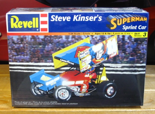 Revell Superman Steve Kinser Sprint Car Sealed