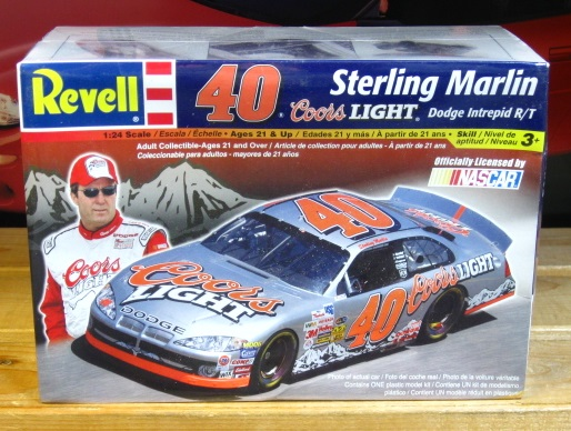 #40 Coors Light Sterling Marlin 2003 Dodge Revell Kit Sealed
