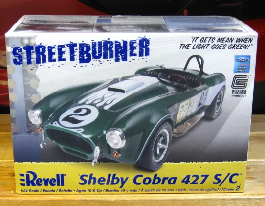 Revell Shelby Cobra 427 S/C Kit Sealed