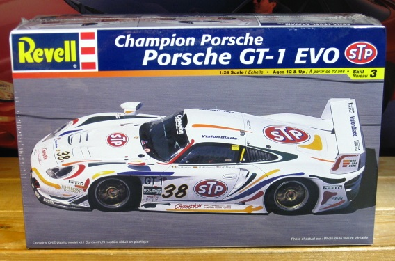Revell STP Champion Porsche GT-1 EVO Kit Sealed