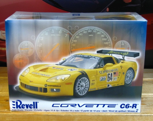 Revell Corvette C6-R Compuware Kit Sealed