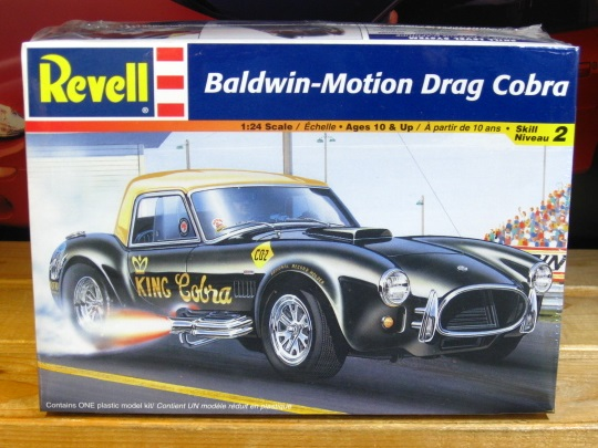 Revell Baldwin-Motion Drag Cobra Kit Sealed