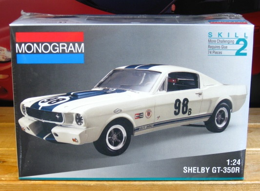 Monogram 1965 Shelby Mustang GT-350R 1994 Issue Sealed