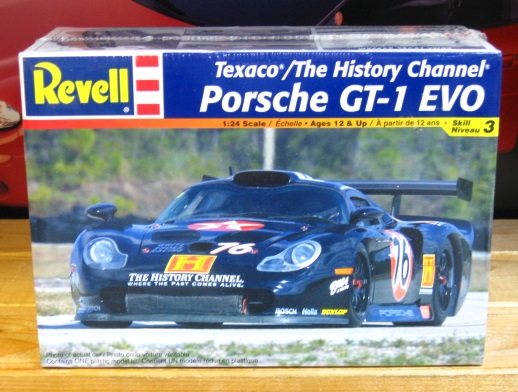 Revell Texaco/History Channel Porsche GT-1 EVO Kit Sealed