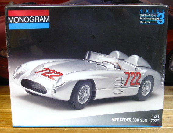 "Monogram 1955 Mercedes 300 SLR ""722"" 1994 Issue Sealed"