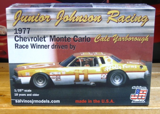 #11 Holly Farms Cale Yarborough Monte Carlo JR-Salvinos Kit NEW!
