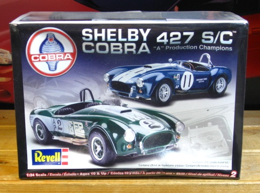 Revell Shelby Cobra 427 S/C 2004 Issue Kit Sealed