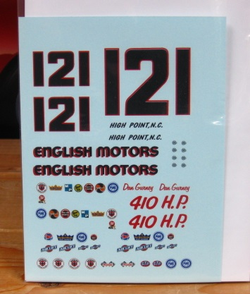 #21/121 English Motors Dan Gurney 1964 Ford PPP