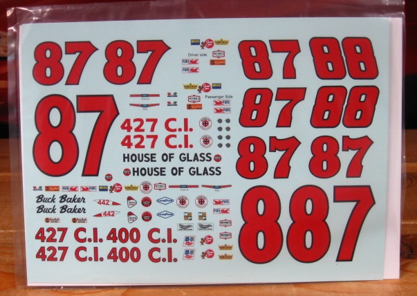 #87/88 Buck & Buddy Baker 1965 Chevy PPP